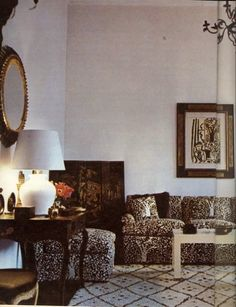 Billy Baldwin for the Harding Lawrence apartment on East End Ave. NYC