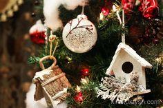 """""""Birdhouse Christmas tree"""" 2012 by kirakoktysh.com"""