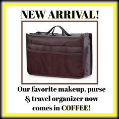 HANDBAG INSERT/MAKEUP/TRAVEL ORGANIZER ☕️You won't find a more versatile friend for your purse or makeup! ☕️ Also great Addison a BEDSIDE or TRAVEL ORGANIZER! ☕️ A PLACE for EVERYTHING! ☕️ Great gift idea! ☕️   Don't forget, bundle 4 items, pay shipping only once!  PLUS I give 20% off all bundles of 4 or more items &/or a bundle worth $50 +! Bags Cosmetic Bags & Cases