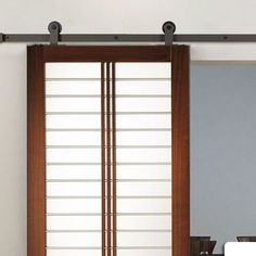 Belleze Modern European Barn Roller Closet Door Hardware Finish: Frosted Black