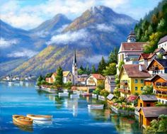 Hallstatt by sung kim (12 pieces)