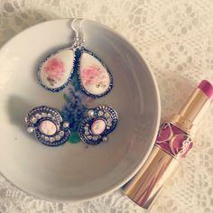 #vintage #roses #earrings #ysl