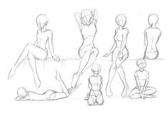 Drawing Body Poses, Body Reference Drawing, Drawing Reference Poses, Drawing Tips, Posture Drawing, Sitting Pose Reference, Human Body Drawing, Drawing Anime Bodies, Manga Drawing