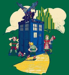 Doctor Who changed the Wizard of Oz story that we have come to know in Raz's new shirt design. On sale today (11/8) at Shirt Punch for $10.  Contest Time!: Win a free shirt by going to Shirt Punch's Facebook page and giving them a like / share on the related shirt post.  Who Killed The Wicked Witch by Raz (RedBubble) (Facebook) (Twitter)