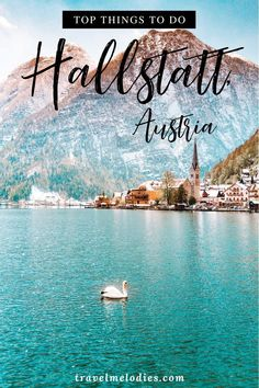 Hallstatt can be explored from Salzburg or Vienna as a day trip if you plan well. Here's a guide to hallstatt dachstein Salzkammergut region to help you plan a perfect Hallstatt itinerary. Hallstatt from Vienna Europe Travel Guide, Backpacking Europe, Travel Guides, Travel Destinations, Visit Austria, Austria Travel, Day Trips From Vienna, Road Trip With Kids, Europe Photos