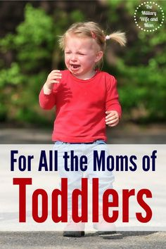 Such an encouraging post of any mom parenting a toddler! Gotta read this!