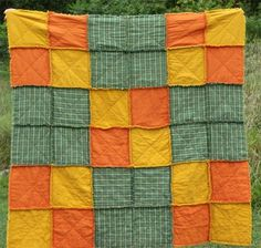 Rag Quilt Ideas | Fall Rag Quilt - Quilt With Us