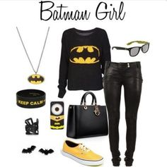 Would love to have this outfit! #batman