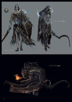 다크 소울 3 등장 몹 컨셉 아트 (스압) | 콘솔 정보 게시판 | 루리웹 모바일 Soul Saga, Dark Souls 2, Beast Creature, Cool Monsters, Arte Horror, Weapon Concept Art, Bear Art, Fantasy Inspiration, Character Inspiration