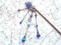 隕石と流星のかんざし Creema ハンドメイドアクセサリー 簪 和雑貨 和小物 ヘアアクセサリー プラネタリウム 宇宙 星空 星座