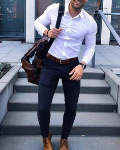 50 New Ideas For Moda Masculina 2019 Formal Mode Masculine, Mode Outfits, Fashion Outfits, Fashion Tips, Fashion Trends, Style Fashion, Fashion Photo, Fashion Ideas, Casual Wear
