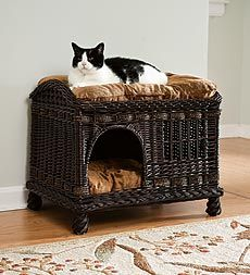 Two-Tier Cat Bed,plow and hearth