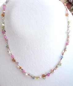 Bead Crochet Necklace