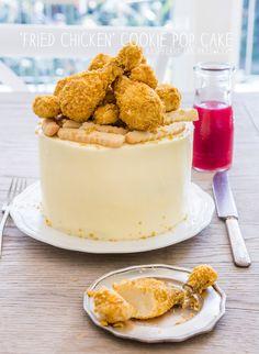 'Fried Chicken' Cookie Pop Cake