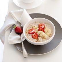 Date and banana porridge