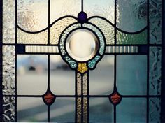 Art Deco | Australia Street Stained Glass. Pattern also pinned to this board.