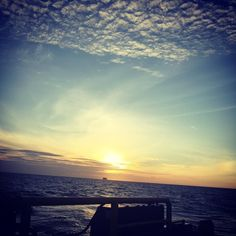 """""""Morning will come it has no choice"""" - Marty Rubin - #offshorelife by kamilchakim"""