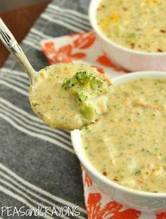 Panera Copycat Broccoli and Cheese Soup