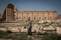 Palmyra Syria Baal Temple is now in Ruins since the 18th Century.