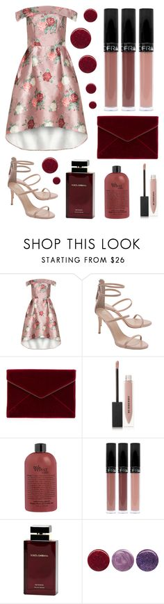 """""""Formal event #4"""" by shirley2801 ❤ liked on Polyvore featuring Giuseppe Zanotti, Rebecca Minkoff, Burberry, Dolce&Gabbana and Deborah Lippmann"""