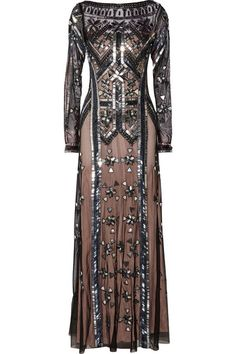 Temperley London | Carly embellished tulle gown | NET-A-PORTER.COM