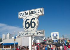 Santa Monica end of Route 66 http://meriharakka.net/2015/02/15/los-angeles-pikakelauksella/
