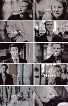 The Mikaelson family❤️