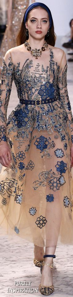 Elie Saab 2017 Spring Haute Couture Women's Fashion | Purely Inspiration
