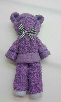 Medvedík z uteráčiku 🐻