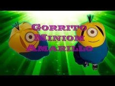 Gorrito Miniom   Miniom Amarillo