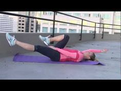Work your abs with this video from Fit Fab Cities.
