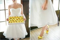 yellow wedding shoes | CHECK OUT MORE IDEAS AT WEDDINGPINS.NET | #weddingshoes