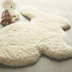 bunny floor rug!
