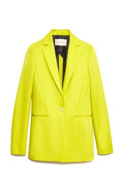 Shop Twill De Soie Blazer by Cédric Charlier for Preorder on Moda Operandi