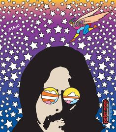 The Stars at night are big and bright - Deept in the heart of Texas 2015 Peter Max