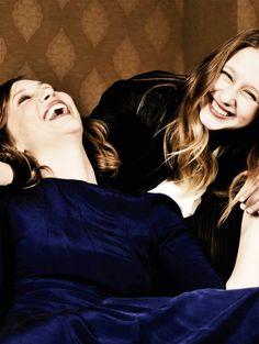 Vera and Taissa Farmiga. Their relationship is adorable.