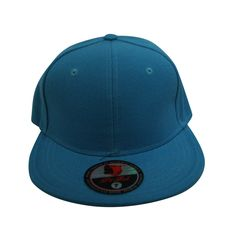 Loyal Cloth Plain Teal Fitted Cap
