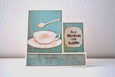 Happymade: Foldekort - Du er fløden i min kaffe