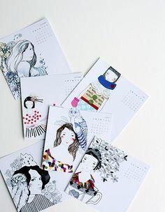 Calendars, calendars, calendars! So many I want!