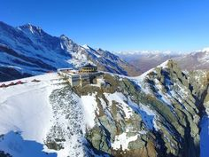 Saas-Fee is the main village in the Saastal, or the Saas Valley, and is a municipality in the district of Visp in the canton of Valais in Switzerland. Saas Fee, Austria, Switzerland, Mount Everest, Maine, Youtube, Travel, Alps, Mountains
