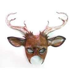 deer mask with antlers - Google Search