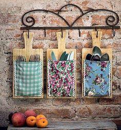 Tablas de cocina decorada
