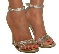Damen Sandalette - Brautschuhe ❤ Pinned by Cindy Vermeulen. Please check out my other 'sexy' boards. X.