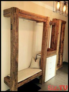 garderobe aus holz 1   Deutsche Dekor 2019 - Wohnkultur   Online Kaufen,  #aus #Dekor #Deutsche #FlurIdeengarderobe #Garderobe #Holz #Kaufen #Online #Wohnkultur
