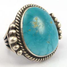 Fox Turquoise Ring