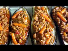 Berenjenas rellenas de atún en olla GM G Deluxe - YouTube Olla Gm G, Relleno, French Toast, Menu, Cooking, Breakfast, Party, Youtube, Recipes