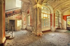 Sven Fennema takes the most amazing photos of the most amazing abandoned places.