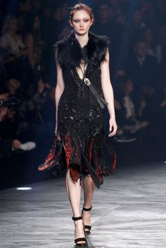 Roberto Cavalli Fall 2014 Ready-to-Wear Fashion Show - Sophie Touchet