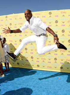 Pin for Later: Le Soleil — et les Stars — Étaient de Sortie Pour les Teen Choice Awards! Terry Crews
