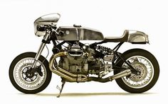 2000 MOTO GUZZI V11 - SANTIAGO CHOPPERS - INAZUMA CAFE RACER  PHOTO - ERICK RUNYON